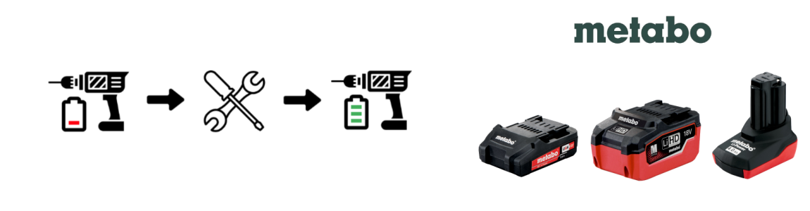 Regeneracja akumulatorów Metabo